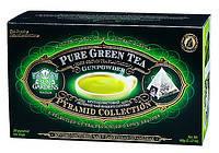 Зеленый чай в пирамидках Gunpowder от Сан Гарденс