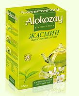 Зеленый чай с жасмином от Alokozay 100 г в упаковке
