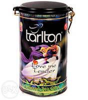 Зеленый чай Нежная любовь от Тарлтон в жестяной банке 300 г