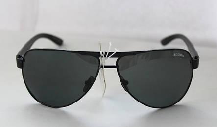 Солнцезащитные очки-авиаторы в черном цвете, фото 2