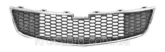 Решітка облицювання радіатора Круз низ, 96981093
