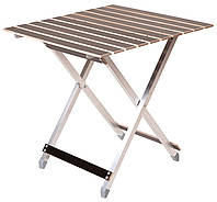Туристичний складаний стіл 65,5 см алюмінієвий (алюмінієвий складний туристичний стіл), фото 1