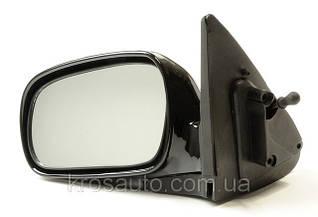 Зеркало наружное механическое Нексия / Nexia левое в сборе 96178698