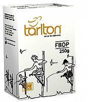 Черный чай FBOP от Тарлтон 250 г в картонной упаковке