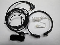 Гарнитура скрытого ношения с ларингофоном ML-15 M1 для радиостанций Motorola / Hytera / Zastone