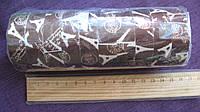 "Лента-скотч декоративная, ткань, самоклеящаяся, 1,4 мм.*20м. ""Эйфелева башня"""