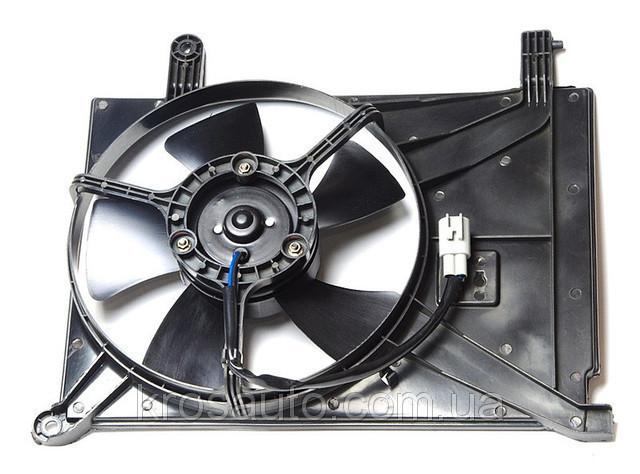 Вентилятор радиатора дополнительный Lanos / Ланос, 96182264