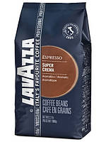 Кофе в зернах LavAzza Super Crema 1кг в упаковке