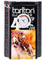 Черный чай Часы Ланцелот от Тарлтон в жестяной банке 200 г