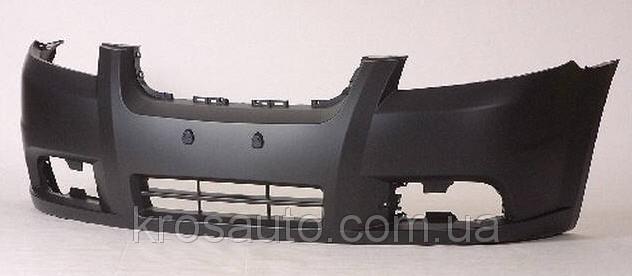 Бампер  передний  - накладка Авео -3, KH1135900 / 0160106900