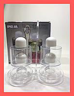 Набор для масла, уксуса, перца и соли, Spice Jar. O.V.S.P. Stack Dispenser Set!