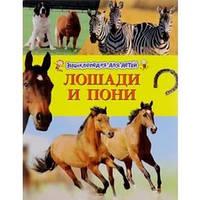 Лошади и пони.  Энциклопедия для детей.