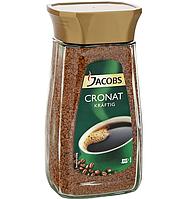 Растворимый кофе Jacobs Cronat Kraftig 200 г в упаковке