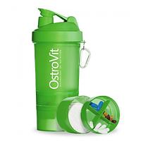 Шейкер Ostrovit Neon 400 мл + 2 контейнера