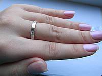 """Серебряное кольцо с золотыми накладками""""Оз"""", фото 1"""
