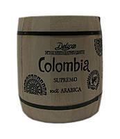Зерновой кофе Colomdia Supremo 250 г в бочонке