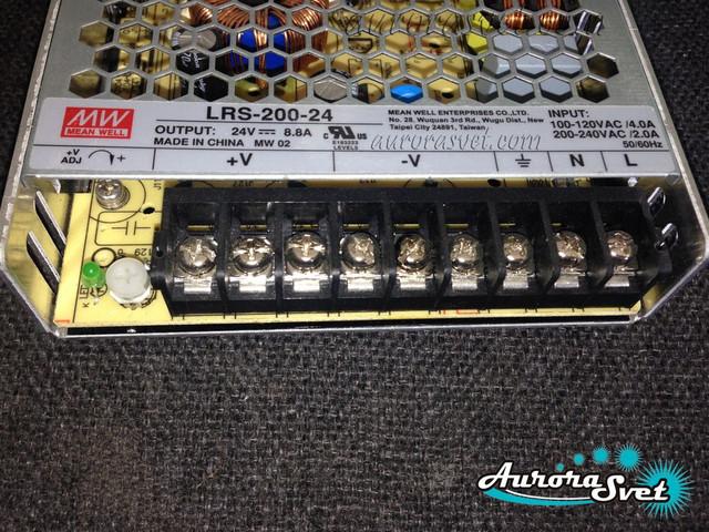 Блок Питания Mean Well LRS-200-24
