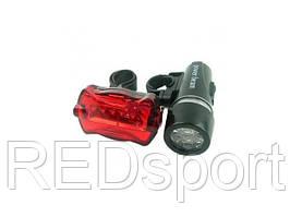 Комплект фонарей для велосипеда М14-7. Ліхтарі для велосипедів