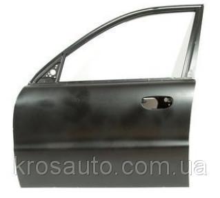 Двері передня ліва чорна грунтована (4-х дверна) Lanos / Ланос, P-TF69Y06100836