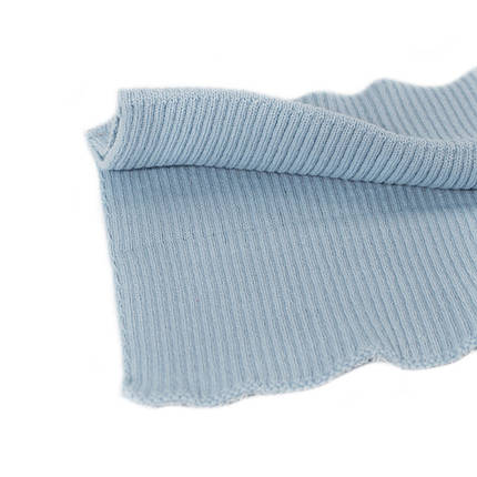 Резинка манжетная довяз, голубая, фото 2