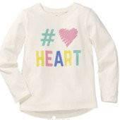 Реглан, кофта для девочки Heart Lupilu р.98/104