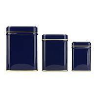 Чайная банка синяя Коста 100г