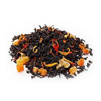 """Черный чай Айва с персиком ТМ """"Gutenberg"""""""