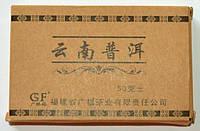 Чай Пуэр Юньнань Шу 50г в упаковке