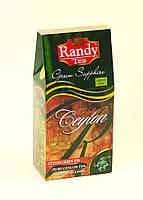 """Чай Зеленый Сапфир от """"Рэнди"""" 100г в упаковке"""