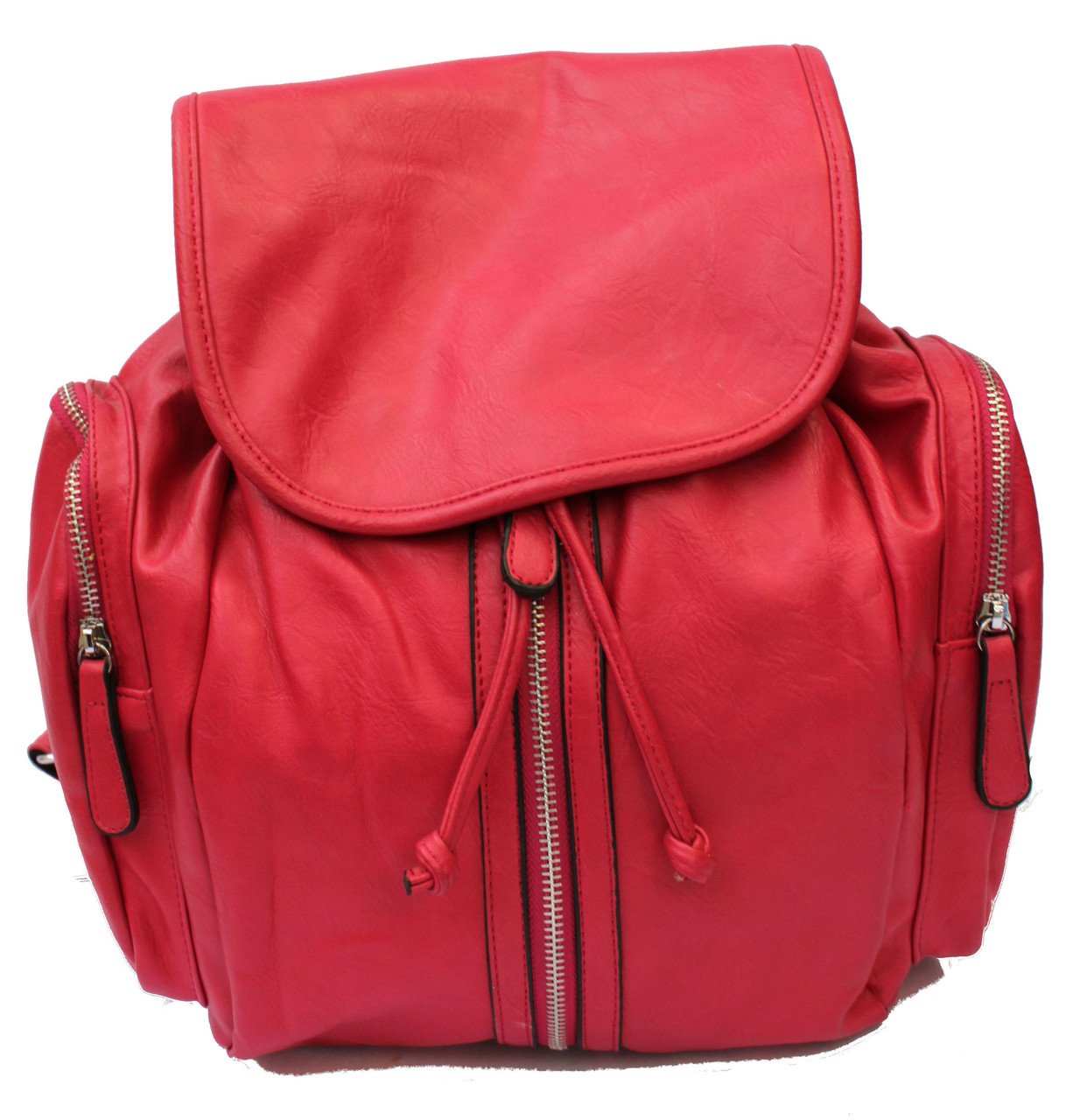 1f1faf6612e4 Большой городской рюкзак на шнурках розовый - Woman's House в Харькове