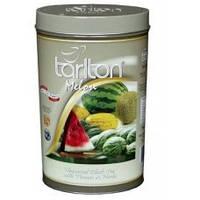Черный чай Арбуз от Тарлтон 100г в жестяной банке
