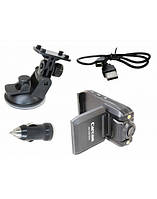Автомобильный видео регистратор carcam p5000, датчик удара, аудио запись, режим день/ночь.