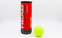 Мяч для большего тенниса HEAD. HED - CHAMPIONSHIP. М'яч для великого тенісу