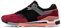 Мужские кроссовки Sneaker Freaker x New Balance 997.5 Tassie Tiger Black/Bordo