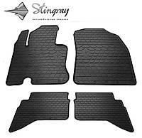 Резиновые коврики Stingray Стингрей Daihatsu Terios 2006- Комплект из 4-х ковриков Черный в салон. Доставка по всей Украине. Оплата при получении