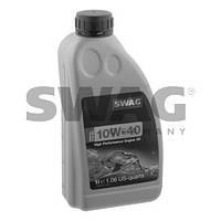 Полусинтетическое моторное масло SWAG 10W40 1л. ( MB 229.1, VW 501 01/505 00 , API SL/CF , ACEA A3/B3/B4 )