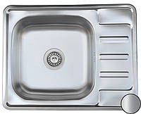 Кухонная стальная мойка (63*50*18 cм) Galati Douro Satin 7175