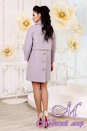 Женское утонченное демисезонное пальто (р. 44-54) арт. 1015 Тон 19, фото 2