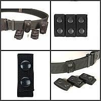 Набор дополнительной фиксации ремня Duty Belt Keeps, текстиль. Полиция Великобритании, оригинал.