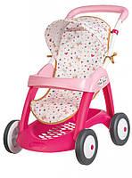 Прогулочная коляска для кукол Baby Nurse Smoby с корзиной (251023)***