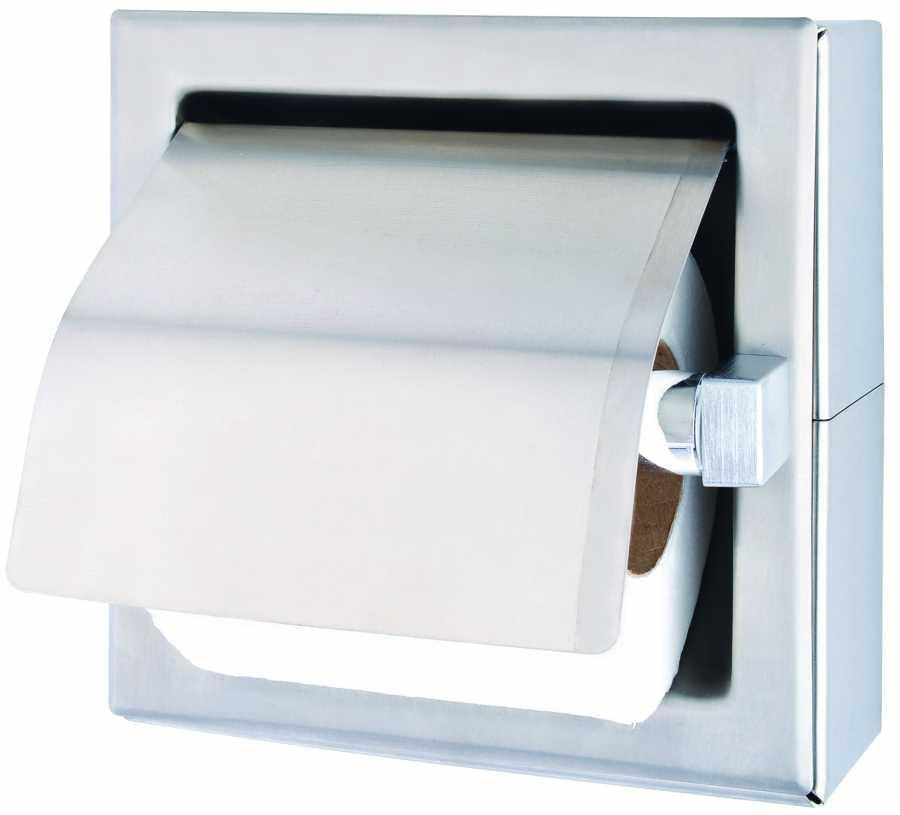 Встраиваемый держатель рулона туалетной бумаги