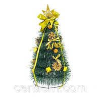 Новогодняя елочка искусственная, елка украшенная (h35 см)