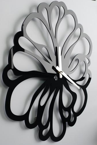 Настенные часы большие черные