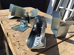 Фурнитура для сварных консольных ворот.Комплект до 450кг, фото 2