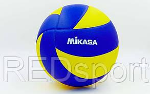 Мяч волейбольный пляжный MIKASA MVA-310 PU. М'яч волейбольний