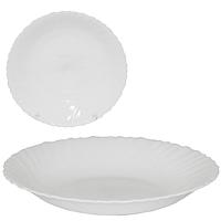 Тарелка суповая 21,5 см Белая SNT 30075-00
