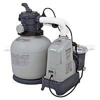 Песочный фильтр-хлорогенератор Intex 28676 Saltwater System 6000 л/ч
