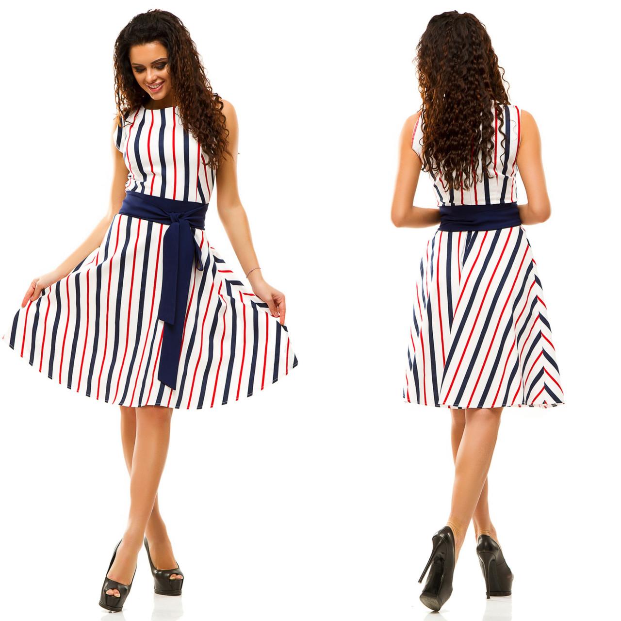 e5534140f34 Платье полоска в расцветках 17228  Интернет-магазин модной женской ...