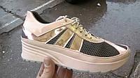 Женские кожаные кроссовки Adi sport р. 35-41
