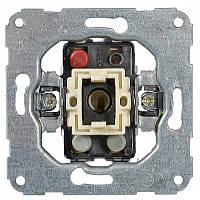 Hager (Германия) - Механизм выключателя универсальный, самозажемные клеммы, возможна подсветка, код - 11000102
